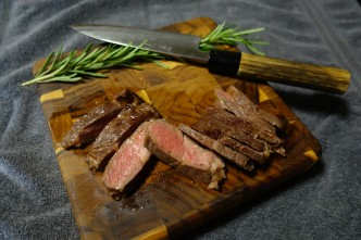 Cheap steak turned awesome with sous vide cooking