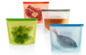 Silicon bags to save on sous vide cooking